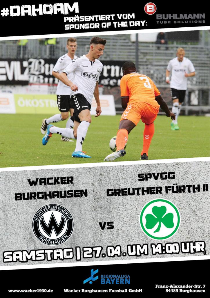 Wacker Burghausen | Sponsor of the Day